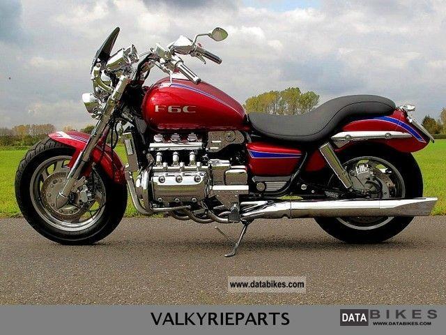 1997 Honda  F6C Valkyrie Motorcycle Chopper/Cruiser photo
