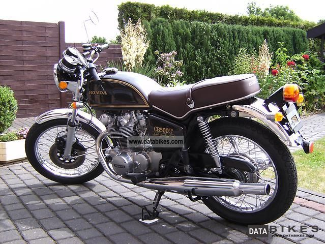 Honda  CB 500T 1976 Vintage, Classic and Old Bikes photo