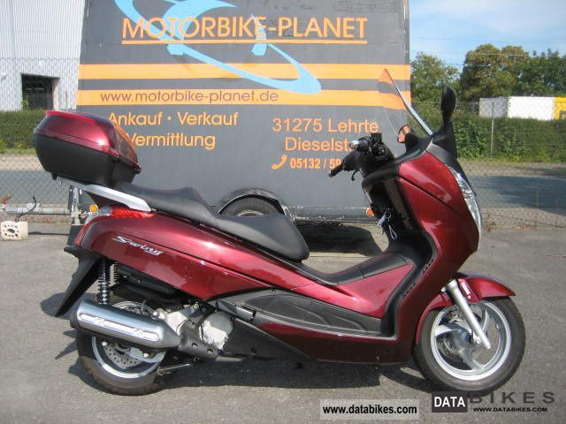 2010 Honda  FES 125 ABS Motorcycle Motorcycle photo