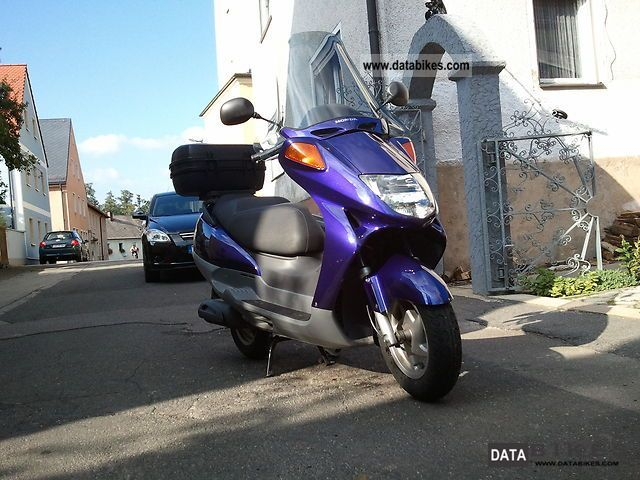 1999 Honda  250 Foresight Motorcycle Scooter photo
