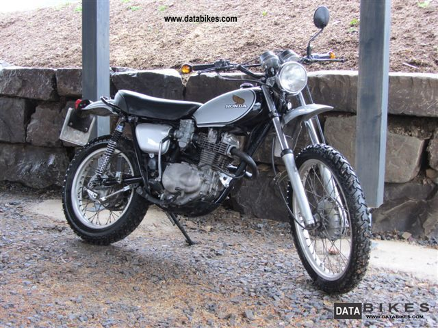 Honda  XL 250 Motosport 1976 Vintage, Classic and Old Bikes photo