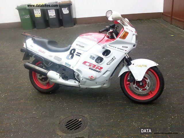 1987 Honda  CBR 1000 Motorcycle Motorcycle photo