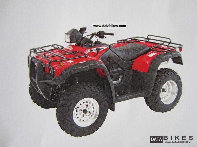 2003 Honda  Quad / ATV TRX 500 FA Motorcycle Quad photo