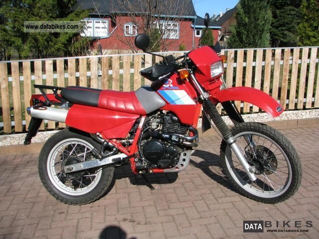 1986 Honda  PD04 XL 600 Motorcycle Enduro/Touring Enduro photo