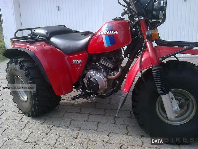 1985 Honda  Trike atc big red Motorcycle Quad photo