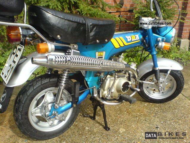 1981 Honda  Dax 70 Motorcycle Motorcycle photo