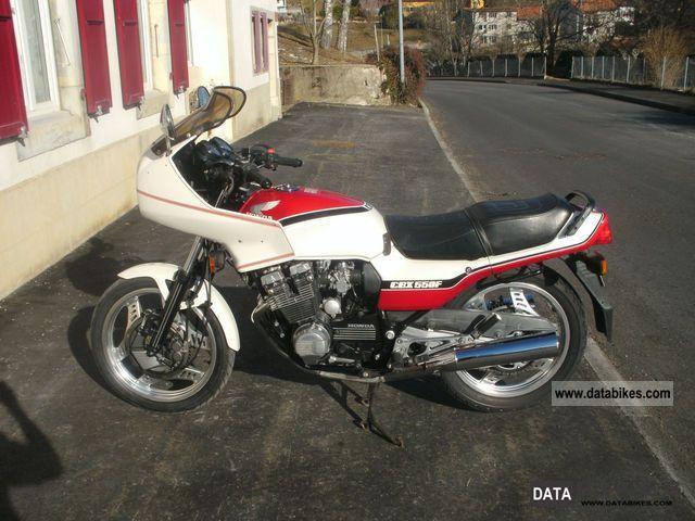 1988 Honda  CBX 550F Motorcycle Motorcycle photo