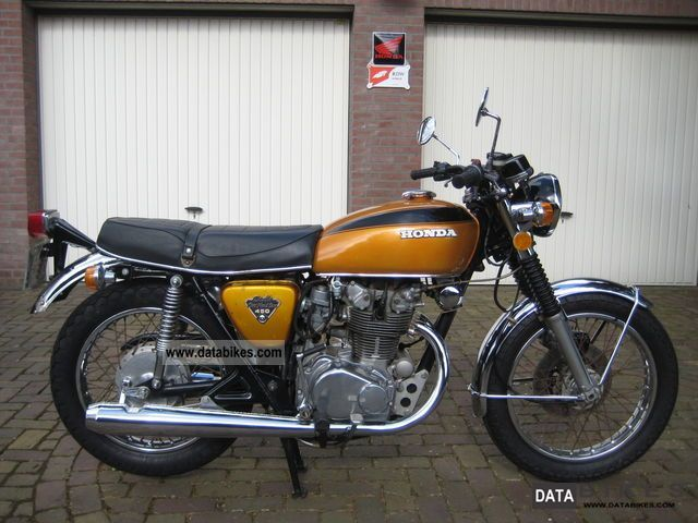 Honda  CB450 K5 1974 Vintage, Classic and Old Bikes photo