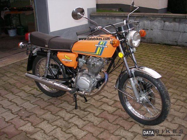 Honda  CB 125 PER 1970 Vintage, Classic and Old Bikes photo