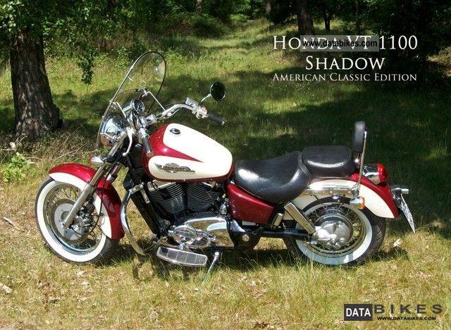 1998 Honda  VT 1100 C2 Motorcycle Chopper/Cruiser photo