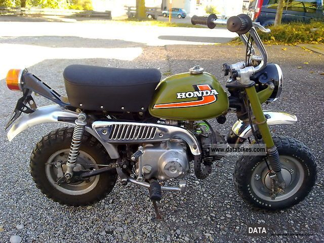 Honda  Z 50 J moped 1978 Vintage, Classic and Old Bikes photo