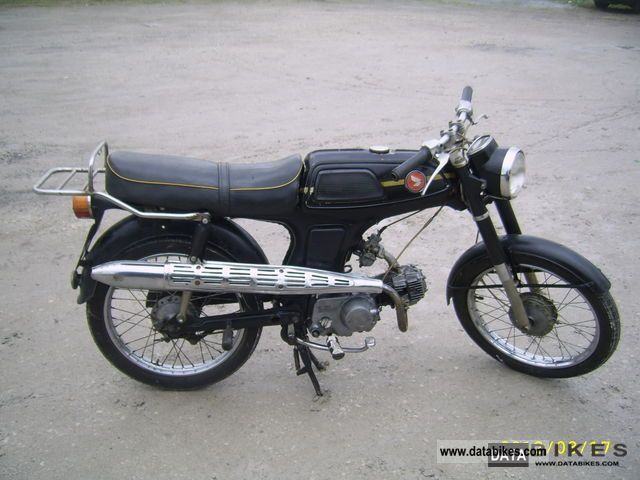 Honda  SS50M 1976 Vintage, Classic and Old Bikes photo