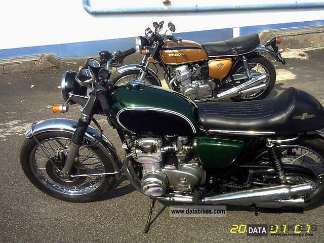Honda  CB500 1975 Vintage, Classic and Old Bikes photo