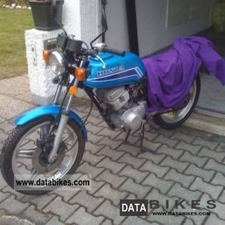 1986 Honda  CB125T Motorcycle Motorcycle photo