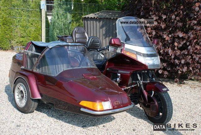 1989 Honda  1500GL Motorcycle Combination/Sidecar photo