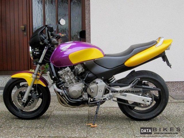 2001 Honda  HORNET, TIRE & OIL CHANGE NEW, ACCIDENT FREE, G.ZUST! Motorcycle Naked Bike photo