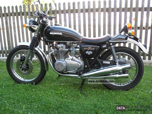 Honda  cb 500 four 1974 Vintage, Classic and Old Bikes photo