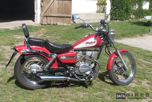 1998 Honda  Rebel CA 125 Motorcycle Chopper/Cruiser photo