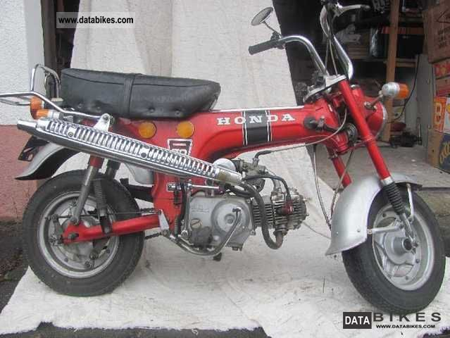 Honda  Dax ST 70 1975 Vintage, Classic and Old Bikes photo
