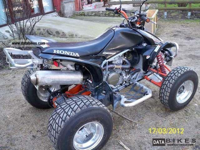 2007 Honda 450 Atv 2007 Honda Trx 450r Atv Quad