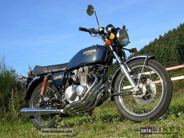 Honda  CB 400 four 1977 Vintage, Classic and Old Bikes photo
