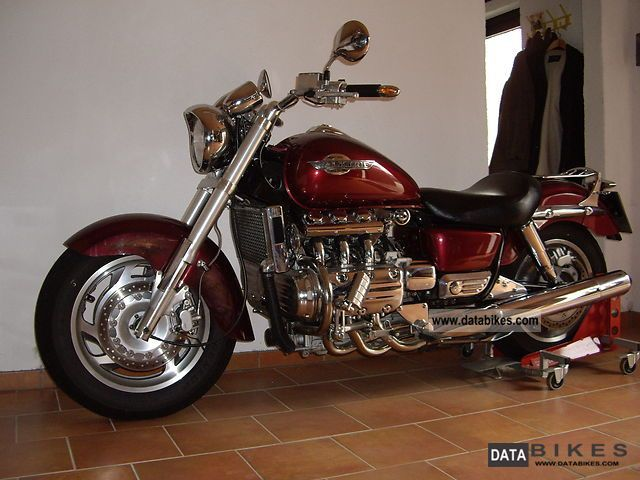 2000 Honda F6 Valkyrie Chopper Bike