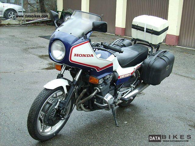 1986 Honda  CBX 550 FII Motorcycle Tourer photo