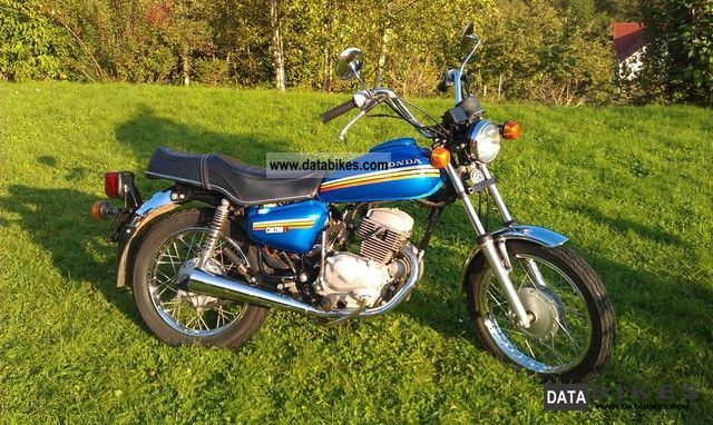 1980 Honda  CM 200T Motorcycle Chopper/Cruiser photo
