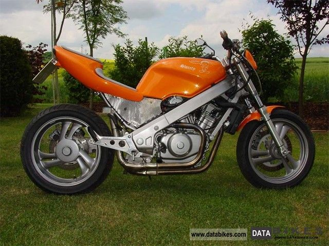 1988 Honda  NTV 650 Street Fighter as Hawk / Bros Motorcycle Streetfighter photo