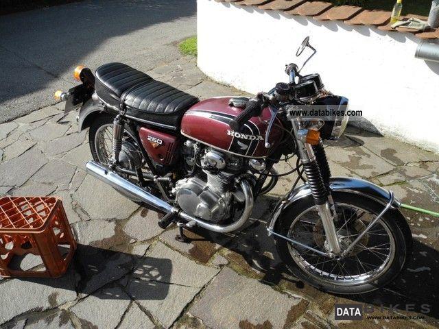 1973 Honda  CB 250 Motorcycle Motorcycle photo