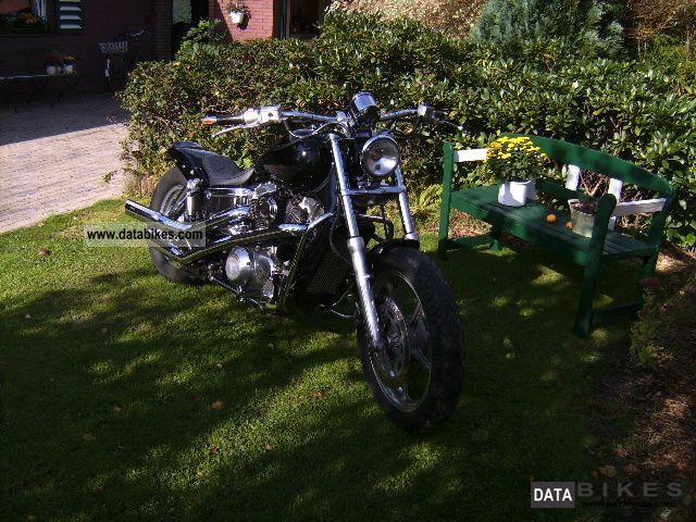 1989 Honda  Shadow VT 1100 sc 23 Motorcycle Chopper/Cruiser photo