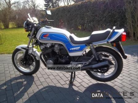 1986 Honda  CB 900 F Bol d'or, SC 09 Motorcycle Naked Bike photo