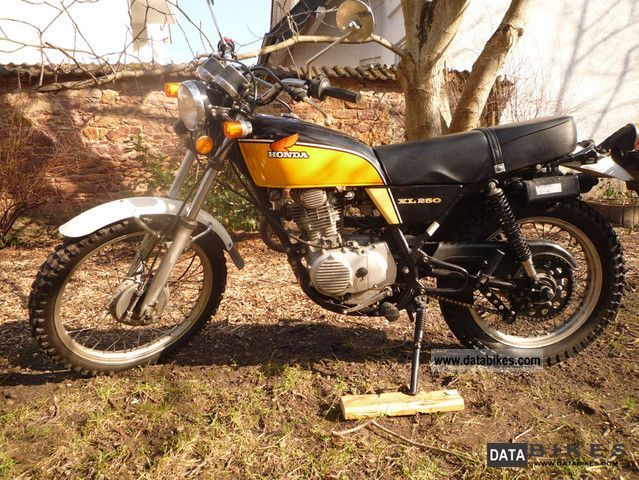 Honda  XL250 1978 Vintage, Classic and Old Bikes photo