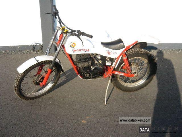 1987 Honda  Montesa Motorcycle Dirt Bike photo