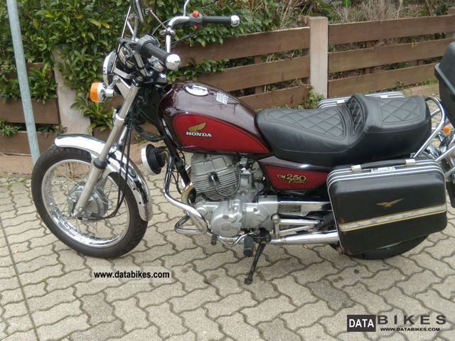 1985 Honda  cm 250 c Motorcycle Chopper/Cruiser photo