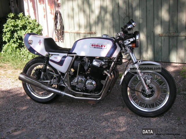 Honda  Seeley CB750 four 1978 Vintage, Classic and Old Bikes photo