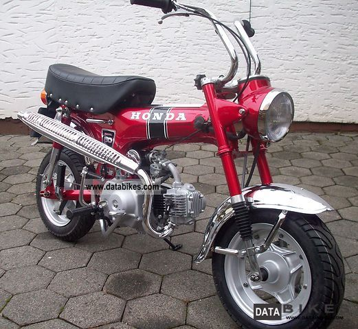Honda  Dax ST 50 G original restored 1975 Vintage, Classic and Old Bikes photo