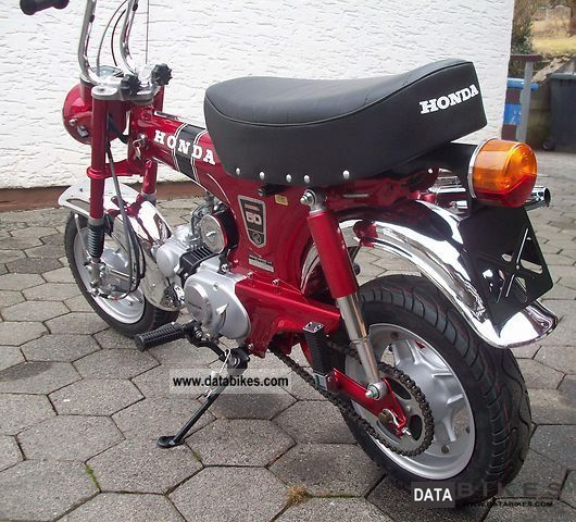 1975 honda dax st 50 g original restored. Black Bedroom Furniture Sets. Home Design Ideas