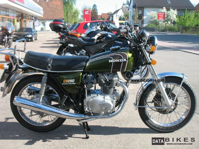 Honda  CB 250 G 1977 Vintage, Classic and Old Bikes photo
