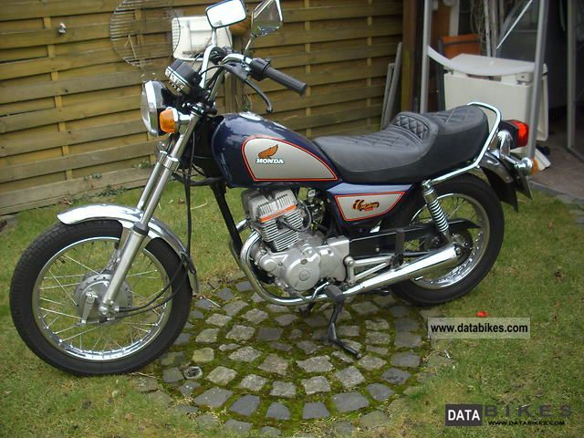 1987 Honda  CM 125C Motorcycle Chopper/Cruiser photo