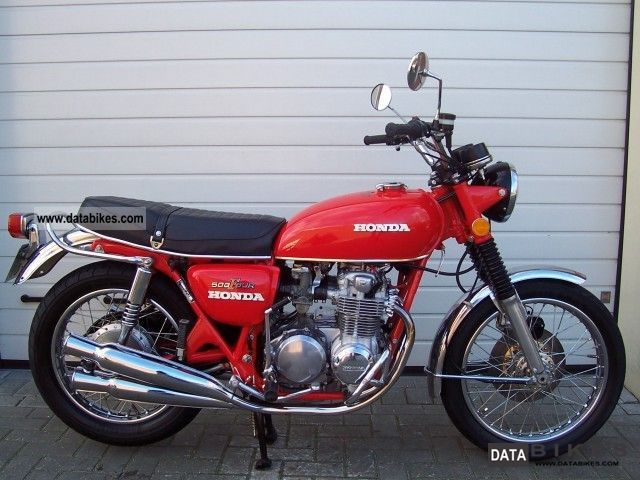 Honda  CB 500 1972 Vintage, Classic and Old Bikes photo