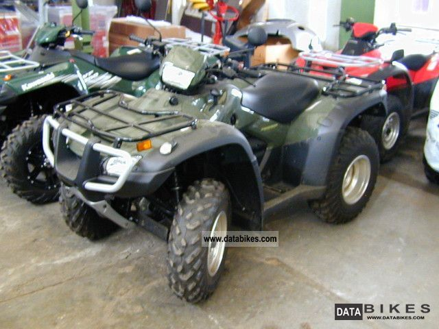 2009 Honda  500 FA Incl. Snow plow Motorcycle Quad photo