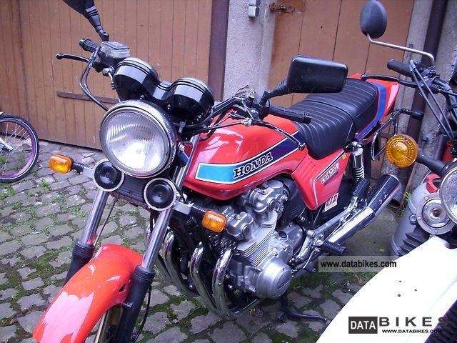 Honda  CB 900 Bol Dor ` 1981 Naked Bike photo