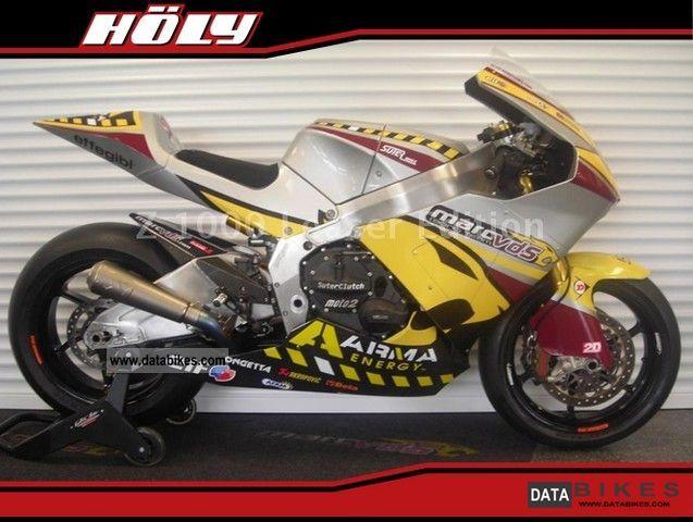 2010 Honda  Moto 2 Marc VDS Suter Motorcycle Racing photo