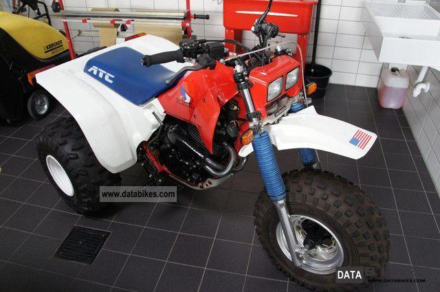1989 Honda  ATC Motorcycle Other photo