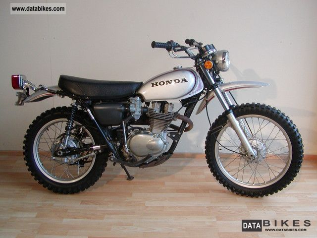 Honda  XL 250 Motosport K0 1972 Vintage, Classic and Old Bikes photo