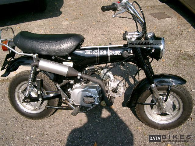 1972 Honda  Dow ST50G Motorcycle Motor-assisted Bicycle/Small Moped photo