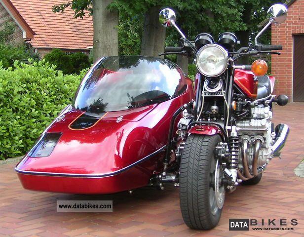 1981 Honda  CBX 1000 Hannigan Motorcycle Combination/Sidecar photo
