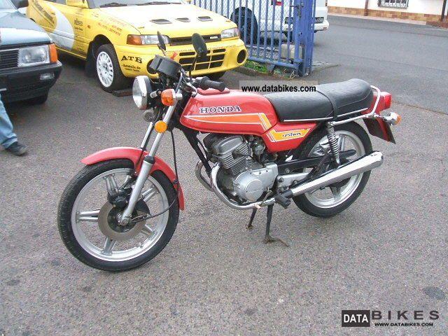 1981 Honda  CB 125 T Motorcycle Motorcycle photo