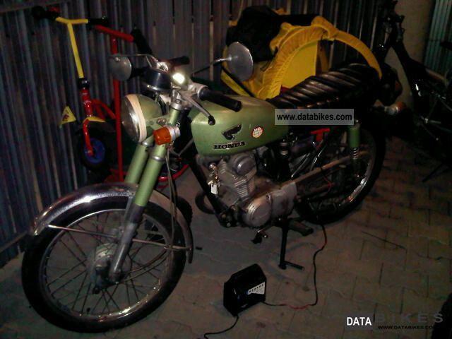 1971 Honda  CB100 Motorcycle Motorcycle photo